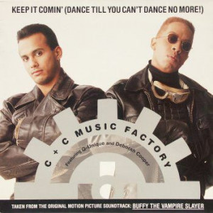 C + C Music Factory Featuring Q-Unique & Deborah Cooper - Keep It Comin' (Dance Till You Can't Dance No More!) - Columbia - 44 74431