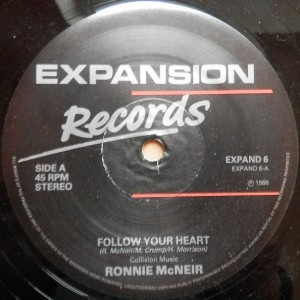 Ronnie McNeir - Follow Your Heart - Expansion - EXPAND 6
