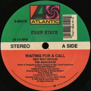 Deep State - Waiting For A Call - Atlantic - 0-86419