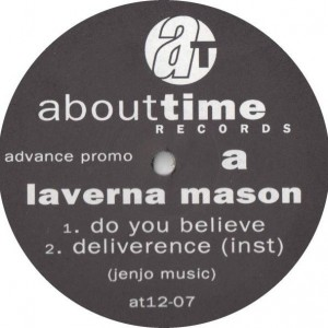 Laverna Mason - The Reach Out EP - About Time Records - AT12-07