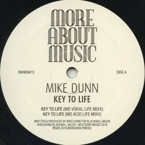 Mike Dunn - Key To Life - Moreaboutmusic - MAMSW15