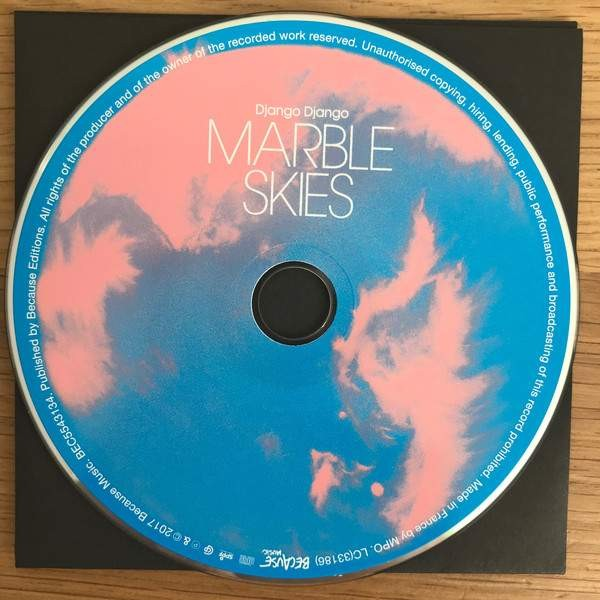 Django Django - Marble Skies - Because Music - BEC 5543135