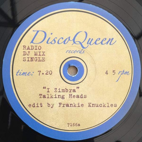 Talking Heads / Jean Carn - I Zimbra / Was That All It Was - Disco Queen Records - 7166