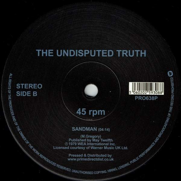 Undisputed Truth - You + Me = Love - WEA International Inc. - PRO638P