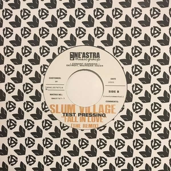 Slum Village - Fall In Love (Remix) - Ne'Astra Music Group - NMG576-7