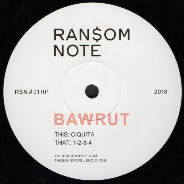 Bawrut - Ciquita / 1-2-3-4 - Ransom Note - R$N#01RP
