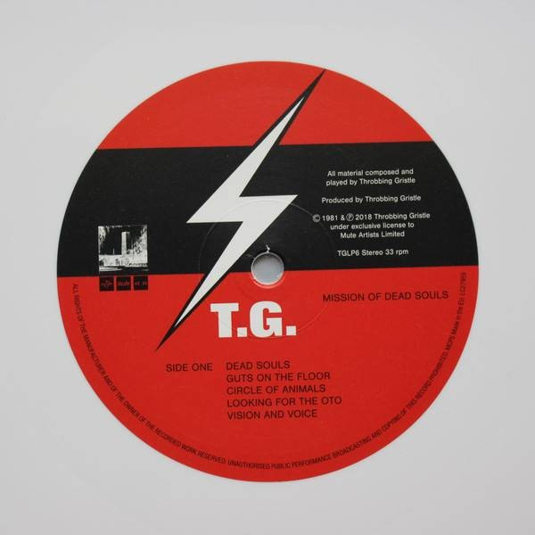 Throbbing Gristle - Mission Of Dead Souls - Mute - TGLP6