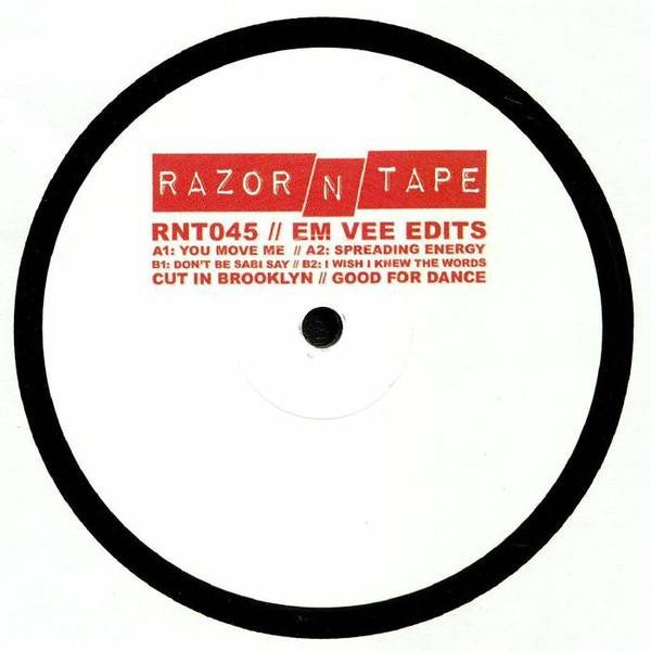 Em Vee - Em Vee Edits  - Razor N Tape - RNT045