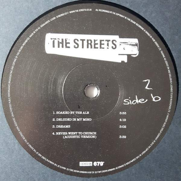 The Streets - Remixes + B-Sides Too - Rhino Records - 0190295512217