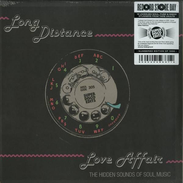 Various - Long Distance Love Affair (The Hidden Sounds Of Soul Music) - Super Disco Edits - SDE43