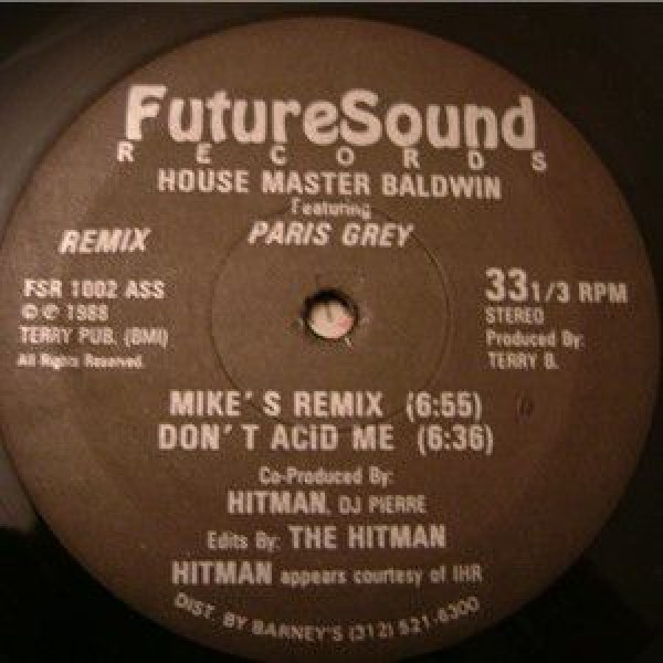 Terry Baldwin Featuring Paris Grey - Don't Lead Me (Remix) - Future Sound R & R Records - FSR 1002