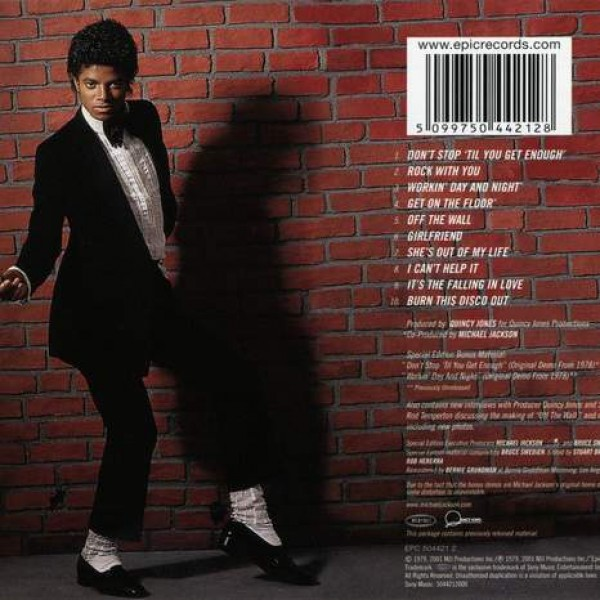 Michael Jackson - Off The Wall - Epic - EPC 504421 2