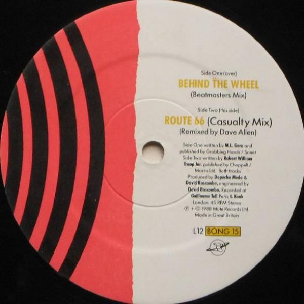 Depeche Mode - Behind The Wheel (Beatmasters Mix) - Mute - L12 BONG 15