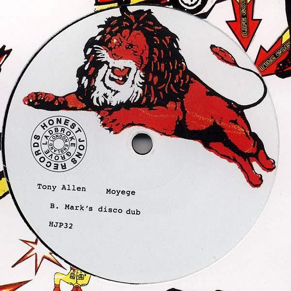 Tony Allen - Moyege - Honest Jon's Records - HJP32