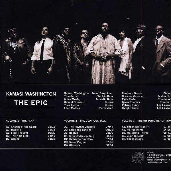 Kamasi Washington - The Epic - Brainfeeder - BF050