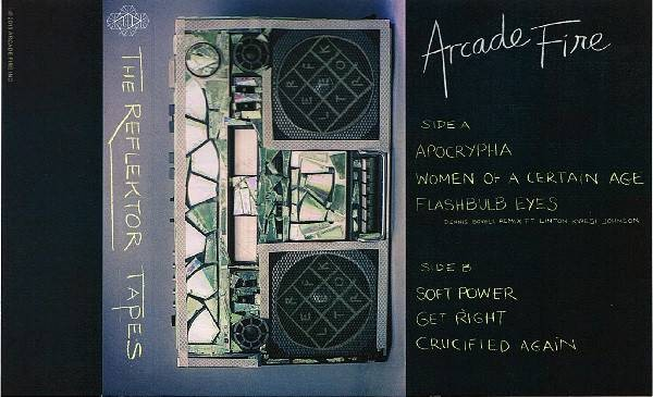 Arcade Fire - The Reflektor Tapes - Virgin EMI Records - 4751721