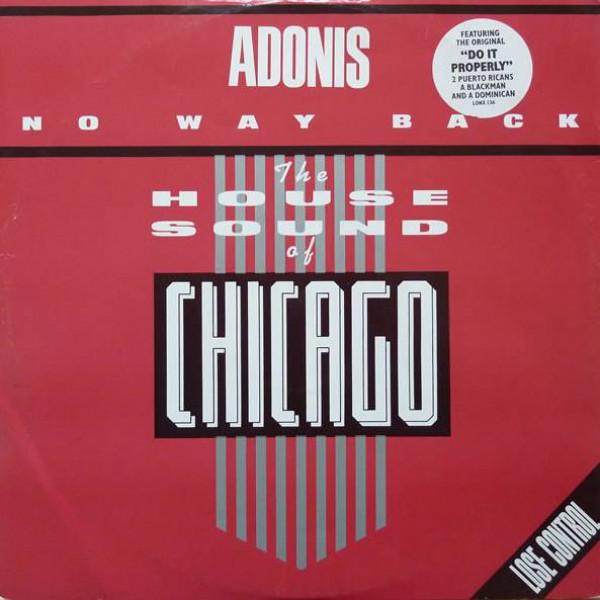 Adonis - No Way Back / Do It Properly - London Records - LONX 136