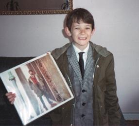 Keith as a boy