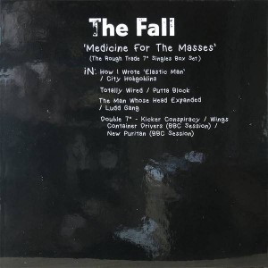 "The Fall - Medicine For The Masses (The Rough Trade 7"" Singles Box Set) - BMG - BMGCAT668BOX"