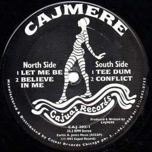 Cajmere - Underground Goodies (Vol. 4) - Cajual Records - CAJ 202-1
